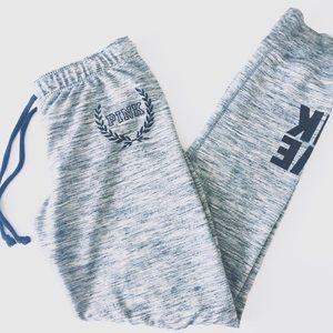 PINK Victoria's Secret Grey Sweatpants Joggers